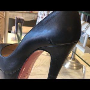 fcc7705ac72f Christian Louboutin Shoes - CHRISTIAN LOUBOUTIN Black platform heels